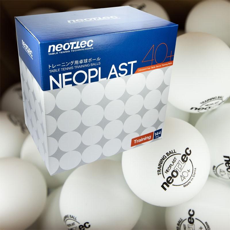 Мячи для настольного тенниса Neottec Training 144 шт мяч для настольного тенниса neottec training диаметр 40 мм в упаковке 144 шт белые