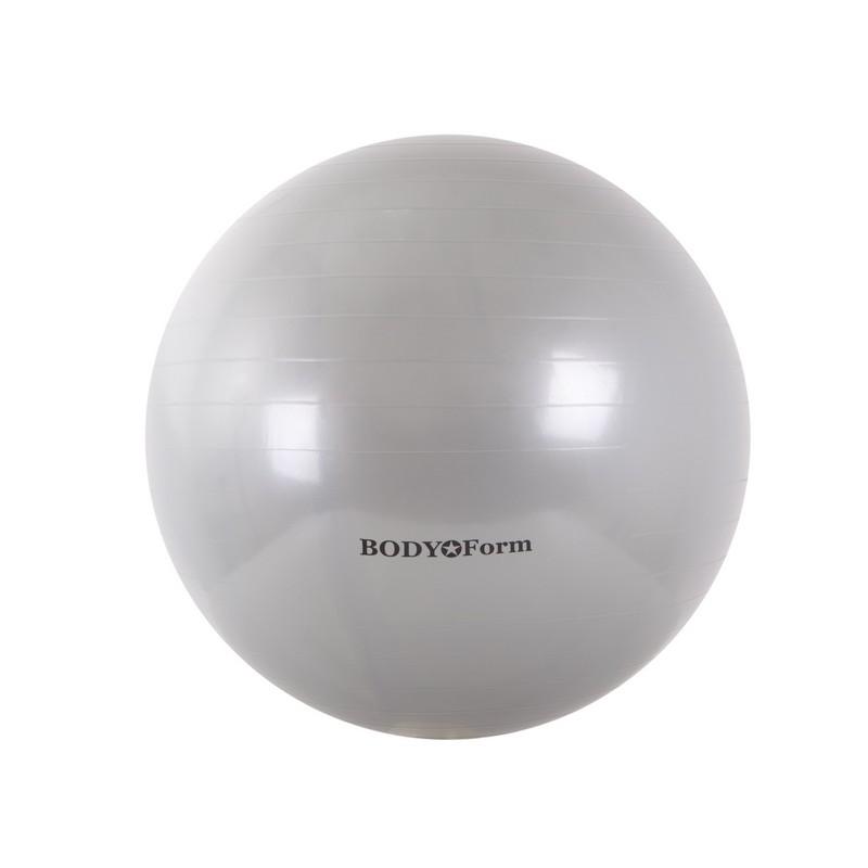 Купить Гимнастический мяч Body Form BF-GB01 D75 см. серебристый,