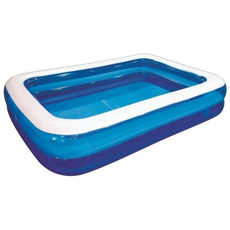 Купить Бассейн надувной Giant Rectangular Pool, 200x150x50 см Jilong 10291-1, Детские надувные бассейны