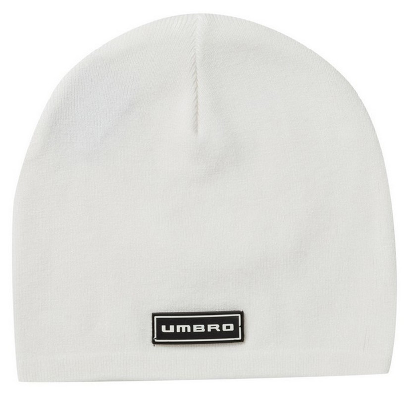Шапочка Umbro Diamond Fleeced Beanie UMBSMU3854 (016) бел/чер.