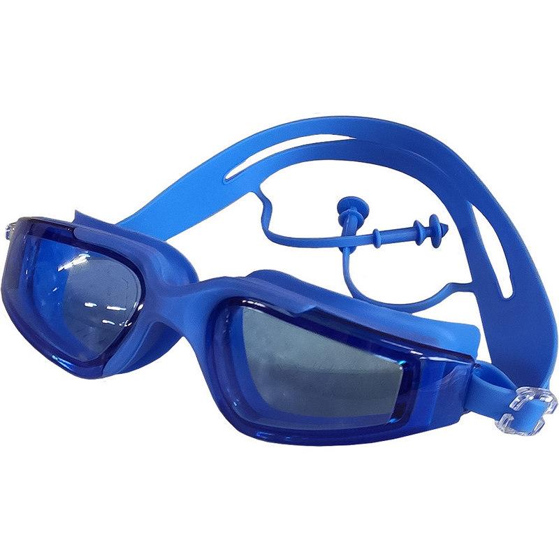 Купить Очки для плавания взрослые B31568 (синие), NoBrand