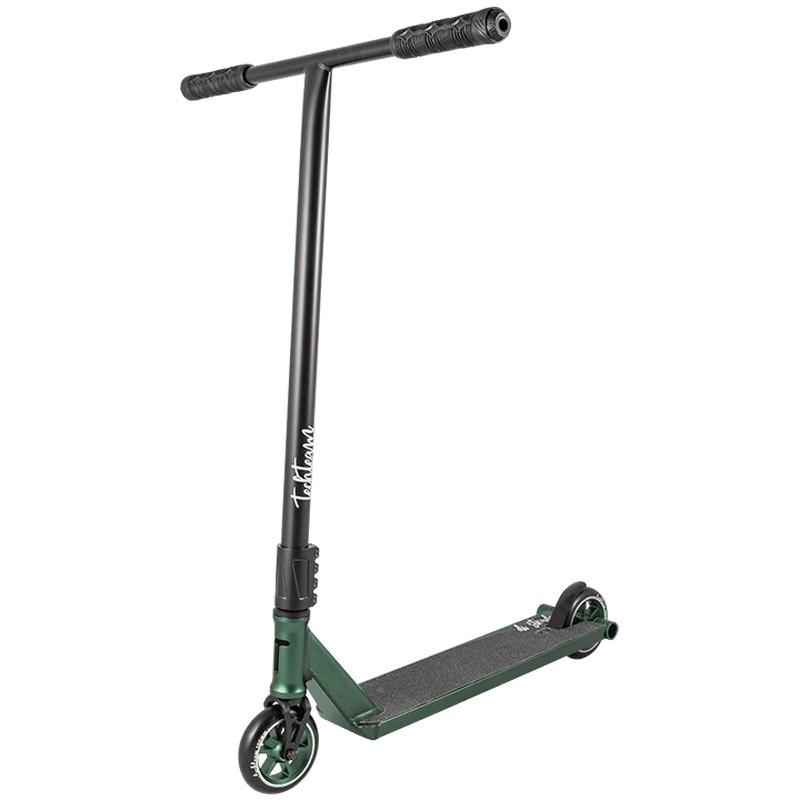 Купить Трюковой самокат Techteam Di Strada (2020) черный-зеленый,