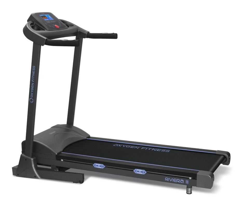 Беговая дорожка Oxygen Fitness Riviera III ML беговая дорожка oxygen fitness villa deluxe ii ml hrc