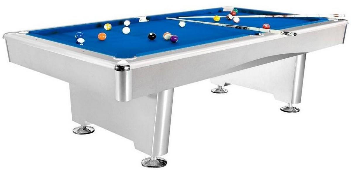 Купить Бильярдный стол для пула Dynamic Triumph 8 ф 55.071.08.2 матово-белый,