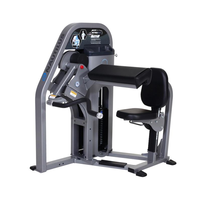 Тренажер для мышц бицепса руки, парта Nautilus CHF/S9PC