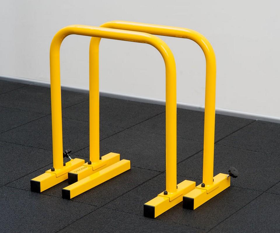 Купить Брусья для отжиманий Stecter Паралетсы (Профи) 2540 желтый,