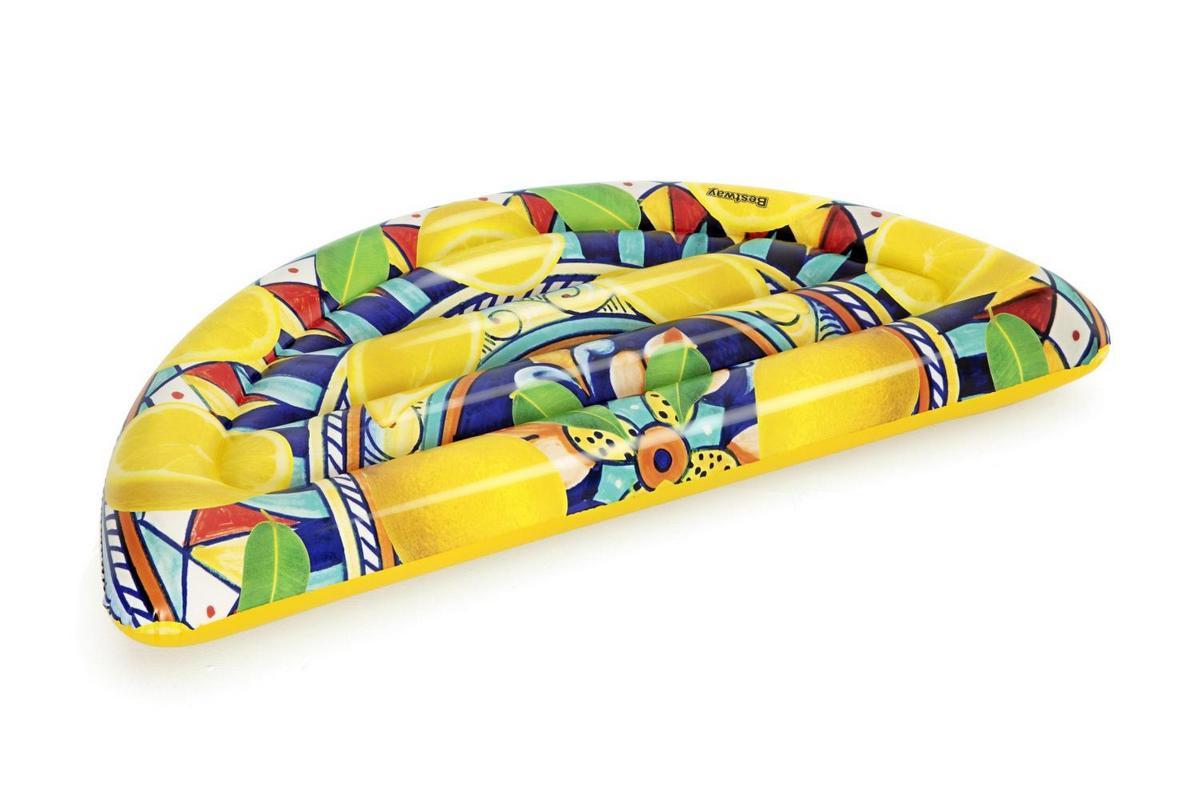 Купить Надувной матрас-плот для плавания 171х89см Сицилийский всплеск до 90кг Bestway 43364,