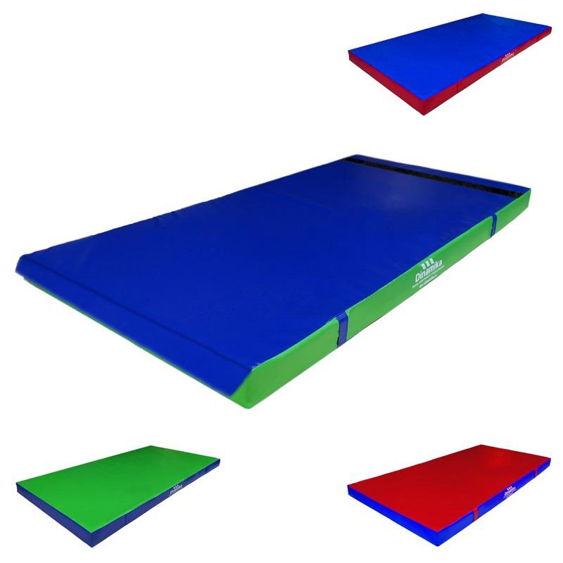 Купить Мат гимнастический 200х100х5см винилискожа-велькро (холлослеп/холлофайбер) Dinamika ZSO-001334,