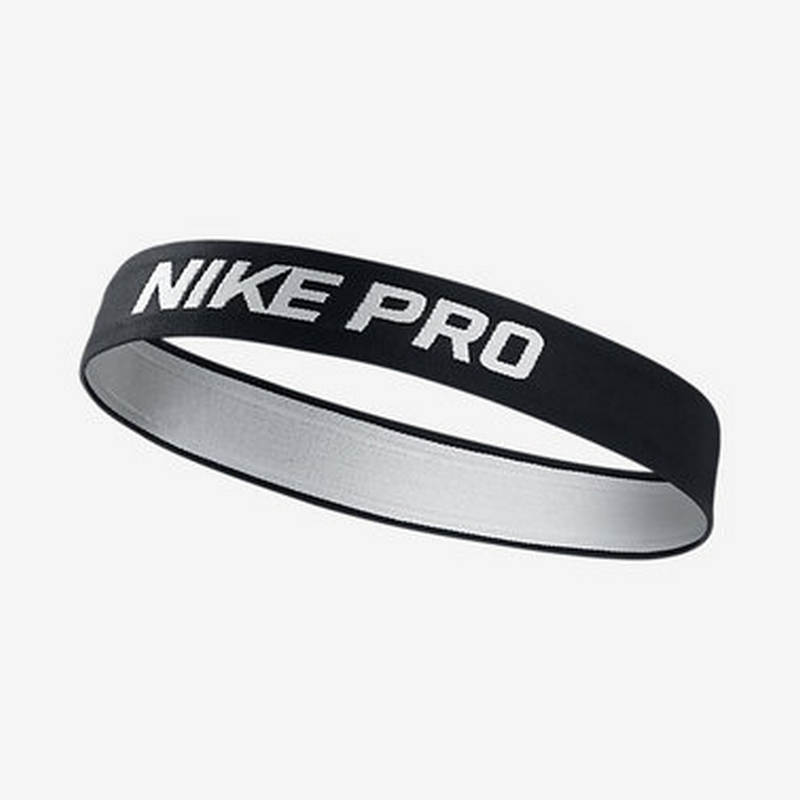Резинка для головы Nike Pro Headband Black/White N.JN.77.010.OS-010