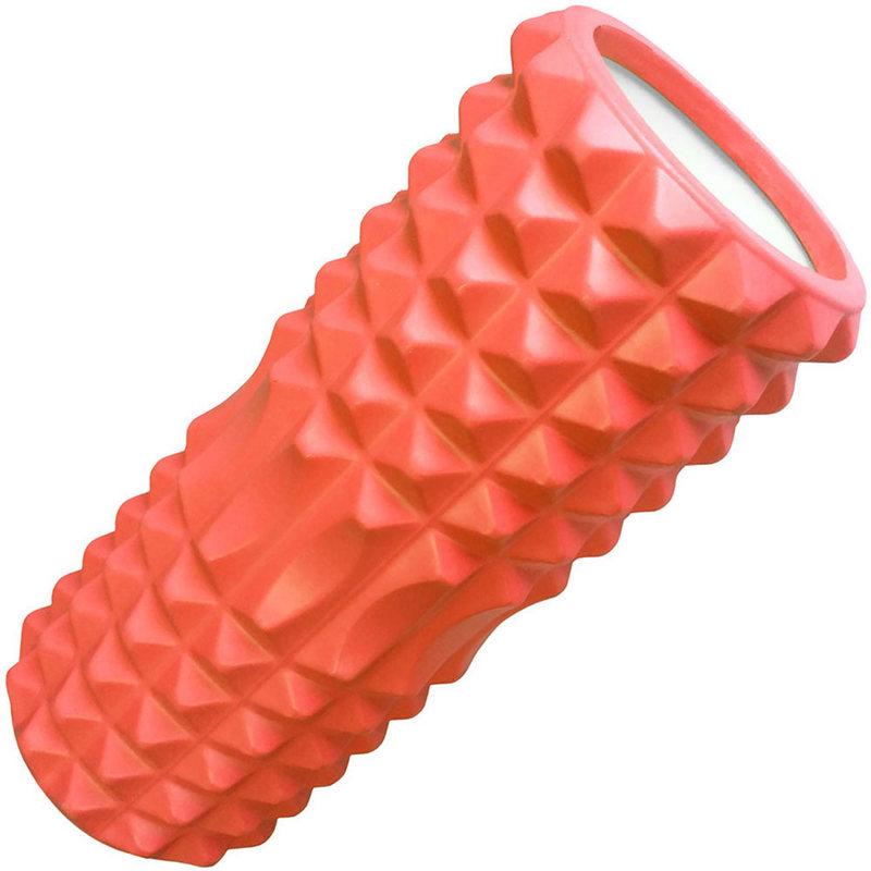 Купить Ролик для йоги (оранжевый) 33х13см ЭВА/АБС D26058, NoBrand