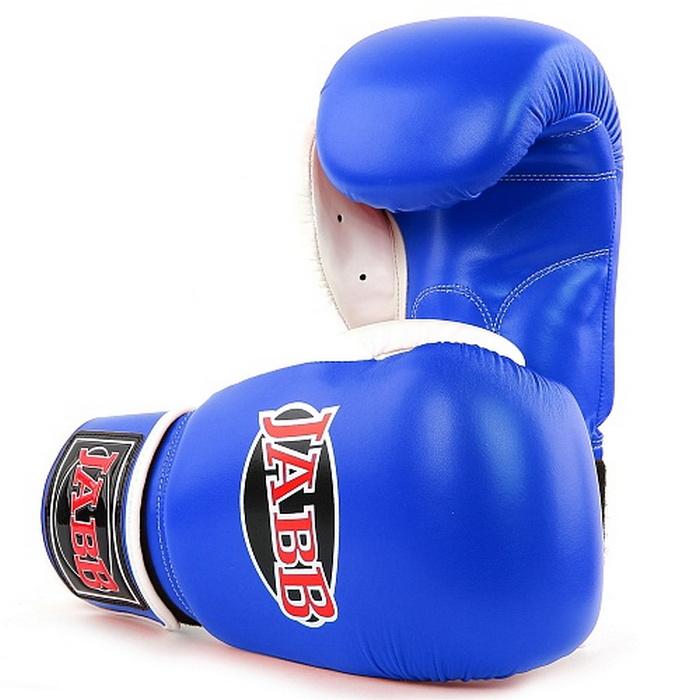 Купить Боксерские перчатки Jabb JE-4056 синий 8oz,