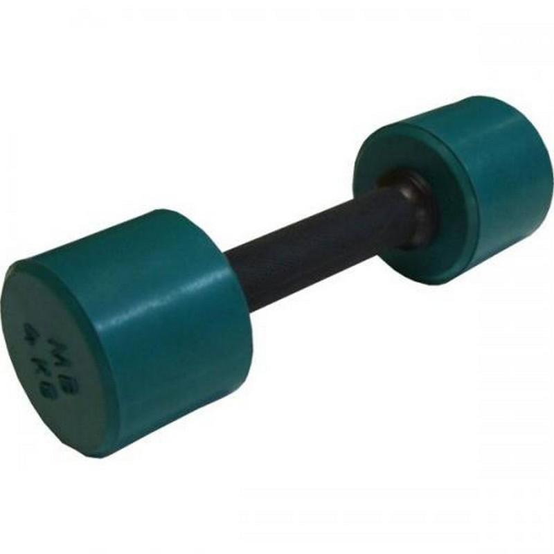 Гантель обрезиненная с обрезиненной ручкой 4 кг MB Barbell MB-FitC-4 цветная гантель обрезиненная с обрезиненной ручкой mb barbell 0 5 кг