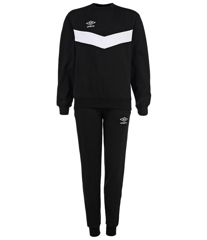 Костюм спортивный Umbro Unity Poly Suit мужской 353115 (661) чер/бел.