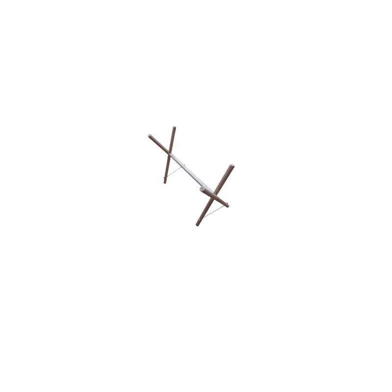 Стойка для гимнастических палок дерево Ellada М914