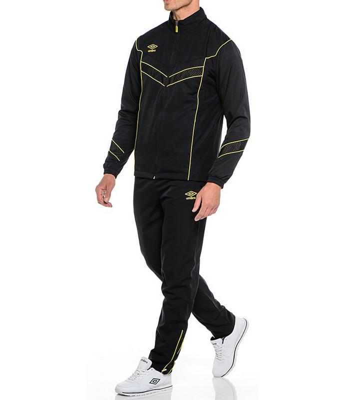 Костюм спортивный Umbro Prodigy Lined Suit мужской 461115 (063) чер/жел.