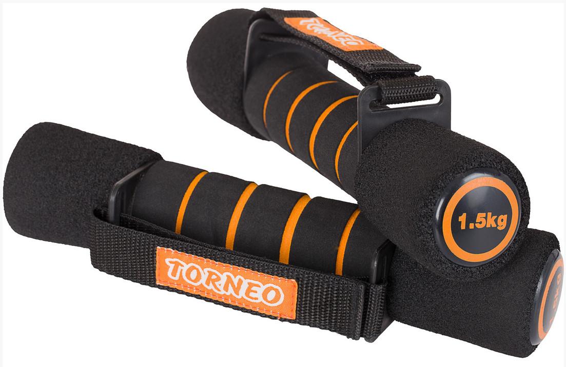 Купить Гантели для фитнеса 2х1.5 кг Torneo A-926 (пара),