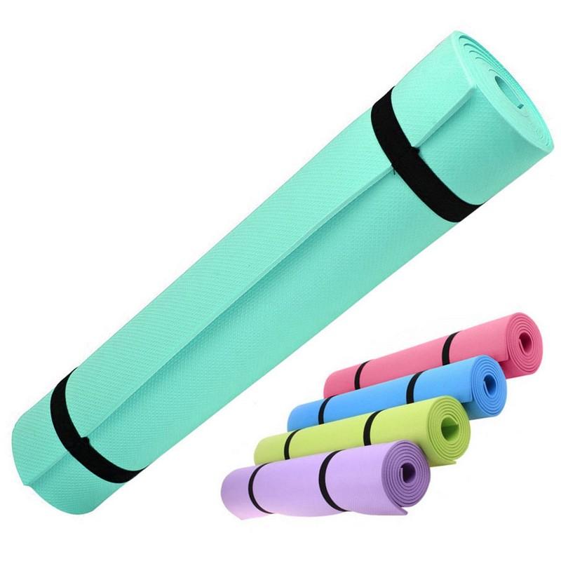 Купить Коврик для йоги EVA 173х61х0,3 см HKEM1205-03 зеленый, NoBrand