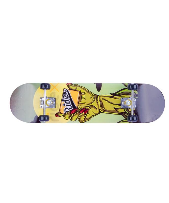 Скейтборд Ridex 31x8, ABEC-3, Immortal скейтборд 8 колес