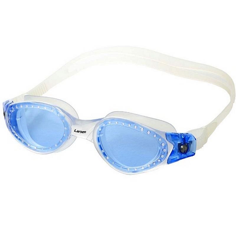 Купить Очки для плавания Larsen S50 Pacific TRANS/BL,