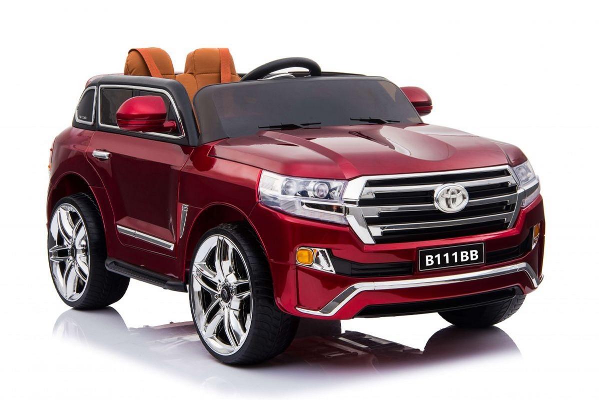 Купить Детский электромобиль River-Toys Toyota B111BB с дистанционным управлением Cherry-glanec, Детские электромобили