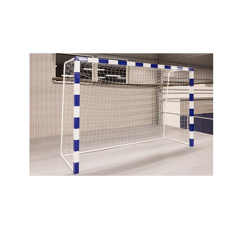 Сетка мини-футбольная/гандбольная (2шт.) Ellada ?=2,2 мм, ячейка 100x100 мм, безузловая, 2x3x1м УТ0075Л