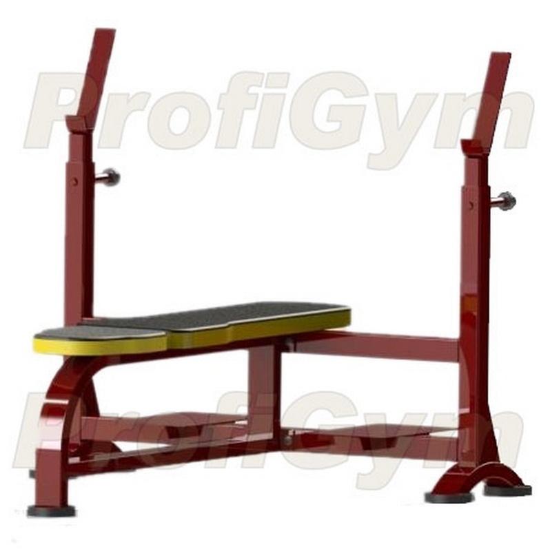 Купить Скамья для жима лежа ProfiGym СК-0030-HР (Rubin),
