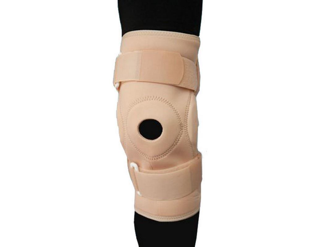 Бандаж на коленный сустав фиксирующий с шарниром, с ребрами жесткости и отверстием Titan Deutschland GmbH BGRO C1KN-901
