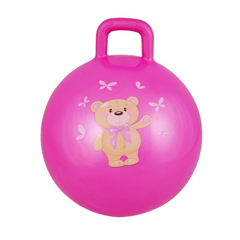 Купить Гимнастический мяч 65 см Body Form BF-CHB01 розовый,