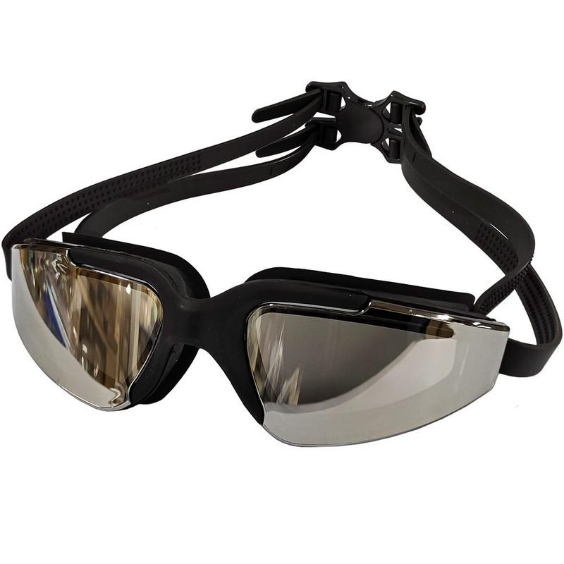 Очки для плавания регулируемый B31544-8 Черный, NoBrand  - купить со скидкой