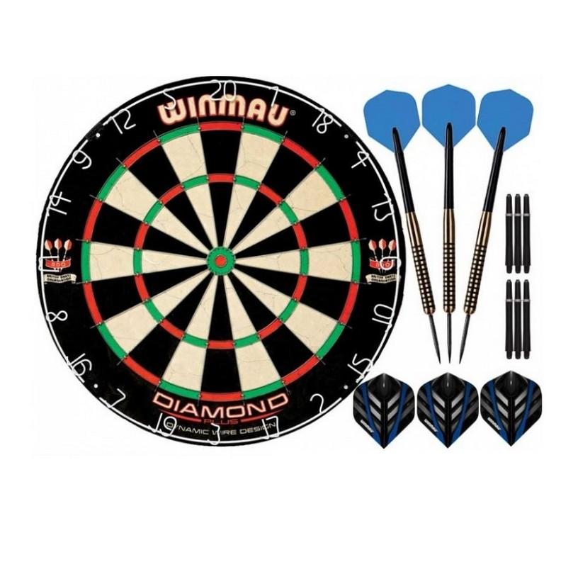 Комплект для игры в Дартс Winmau S400 средний уровень
