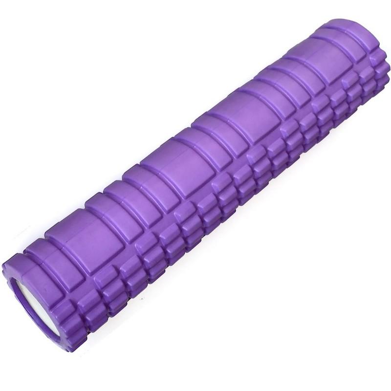 Ролик для йоги 60х14см ЭВА/АБС B31262-3 светло-фиолетовый