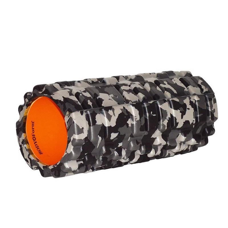 Купить Ролик массажный Body Form BF-YR03 черный-оранжевый,