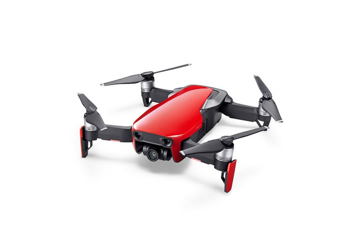 Складной квадрокоптер DJI Mavic Air Fly More Combo, red