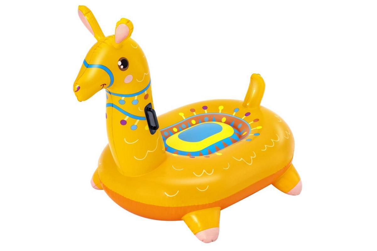 Купить Надувная игрушка-наездник 129х110см Лама с ручками, до 45кг, от 3 лет, Bestway