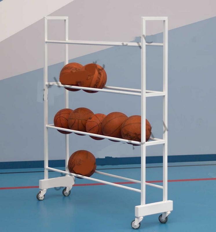 Купить Тележка-стеллаж для перевозки и хранения мячей Atlet IMP-A279,
