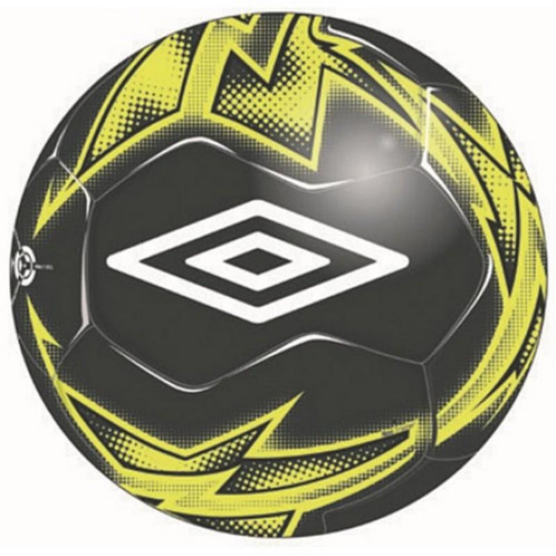 Мяч футбольный Umbro Neo Trainer 20877U (490) чер/бел/жёл. (р.5) мяч футбольный р 5 umbro neo league 20865u fcx