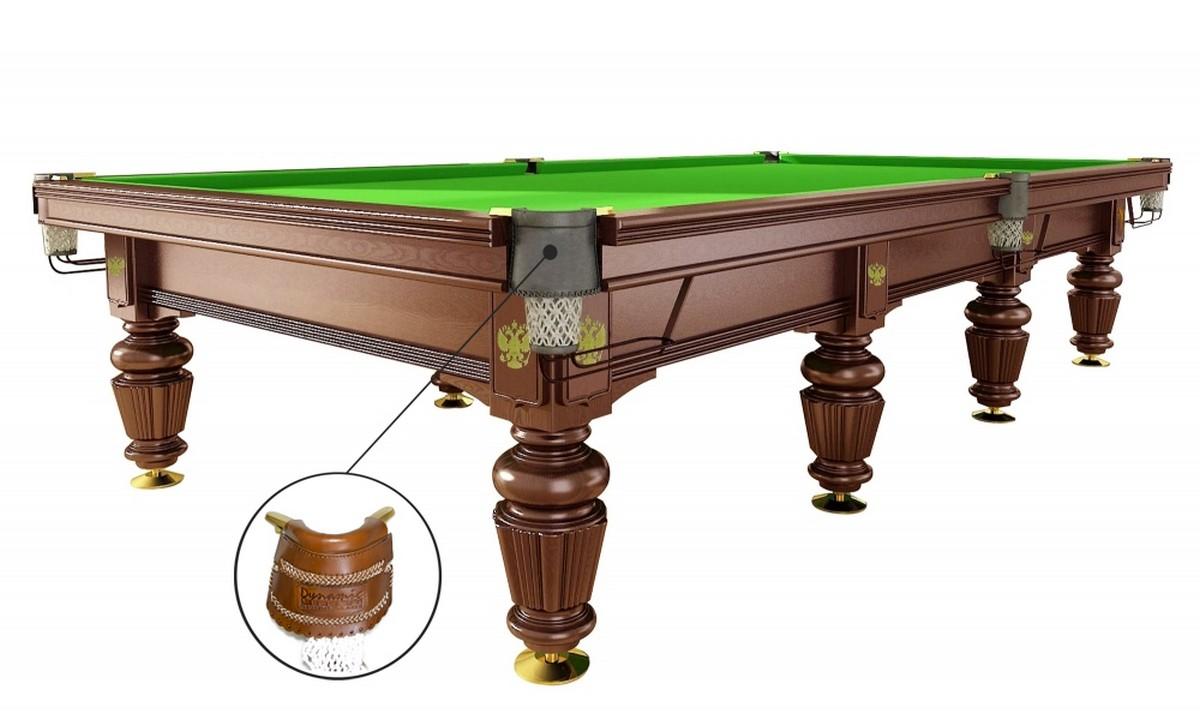 Бильярдный стол для русского бильярда Dynamic Noble 12 ф орех