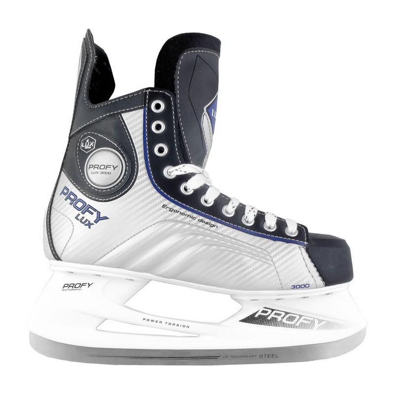 Хоккейные коньки СК Profy Lux 3000 Blue коньки onlitop 223f 37 40 blue 806164