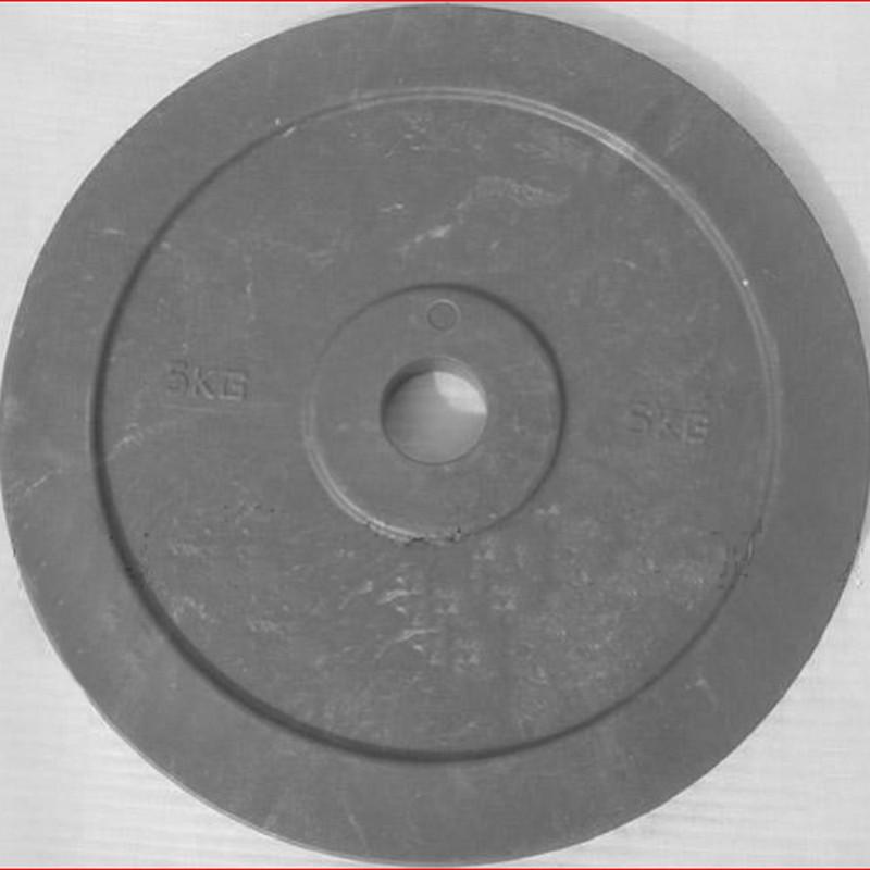 Купить Диск технический d51мм DHS 5 кг, красный, серый,