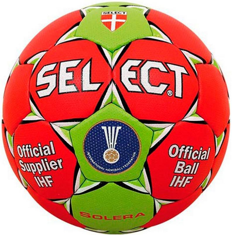 Мяч гандбольный р.3 Select Solera IHF 843408-343 мяч футзальный select futsal talento 11 852616 049 р 3