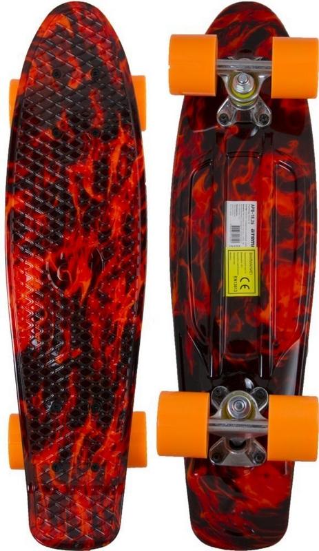 Миниборд Atemi APB-18.26 (22,5*6) скейт atemi волны apb 2 16