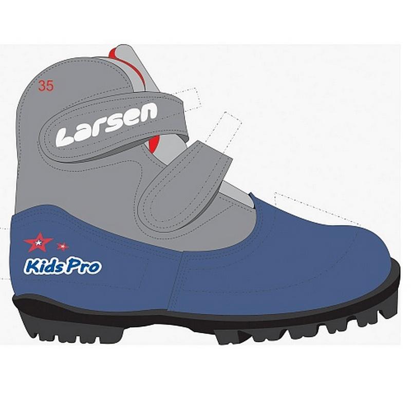 Лыжные ботинки NN75 Larsen Kids Pro/19