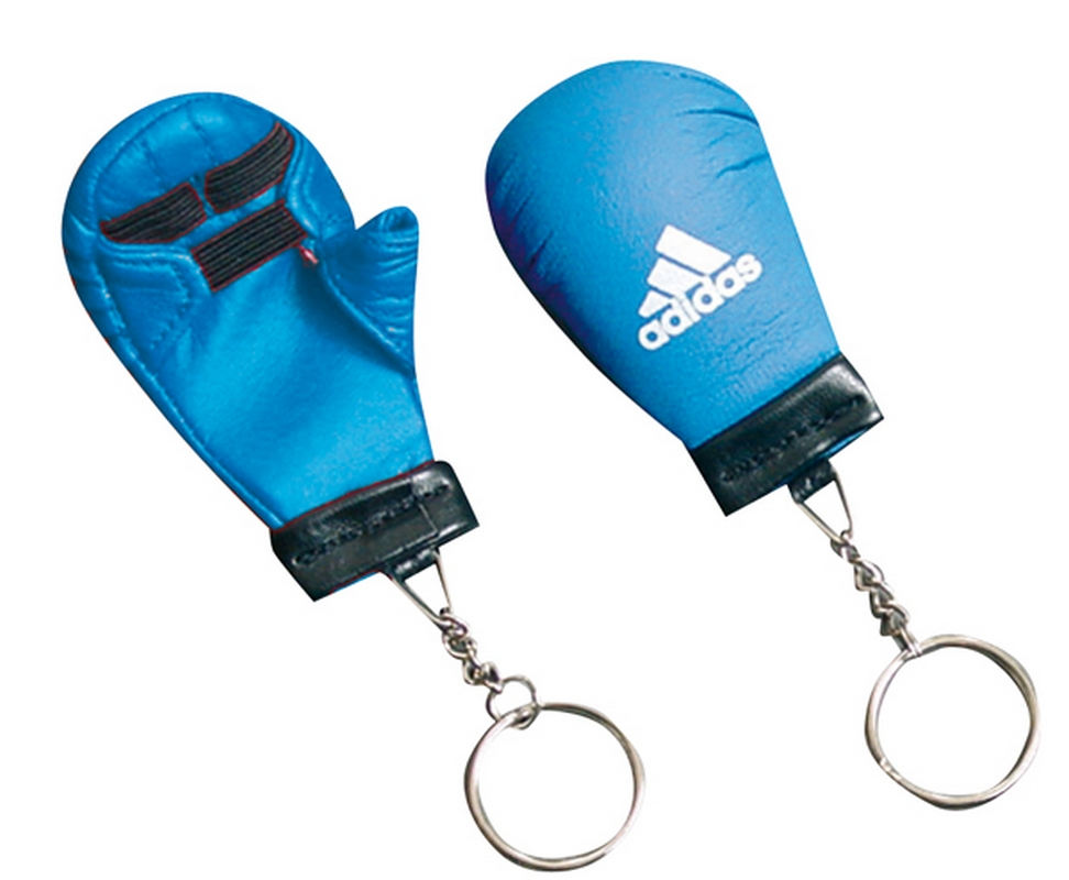 Брелок для ключей Adidas Key Chain Mini Karate Glove синий adiACC010 цена