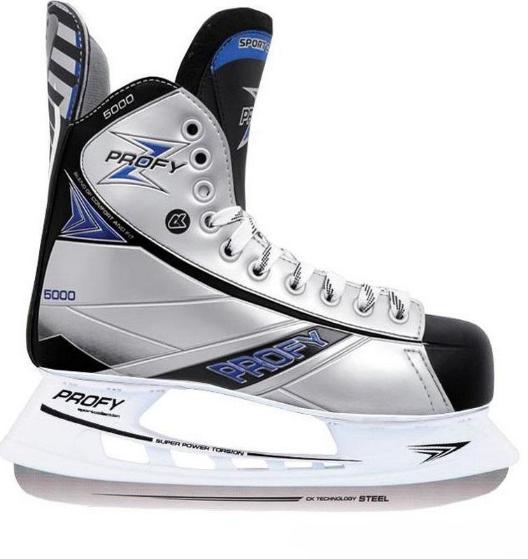 Хоккейные коньки СК Profy Z 5000 коньки onlitop 223f 37 40 blue 806164
