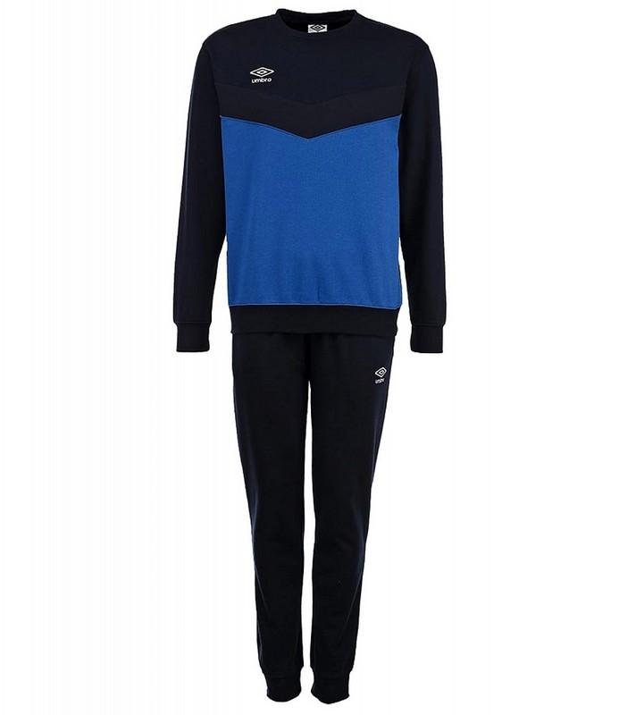 Костюм спортивный Umbro Unity Poly Suit мужской 353115 (791) син/т.син/бел