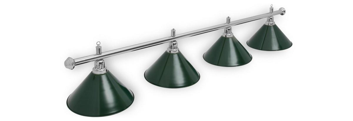 Купить Светильник Fortuna Prestige Silver green 4 плафона,