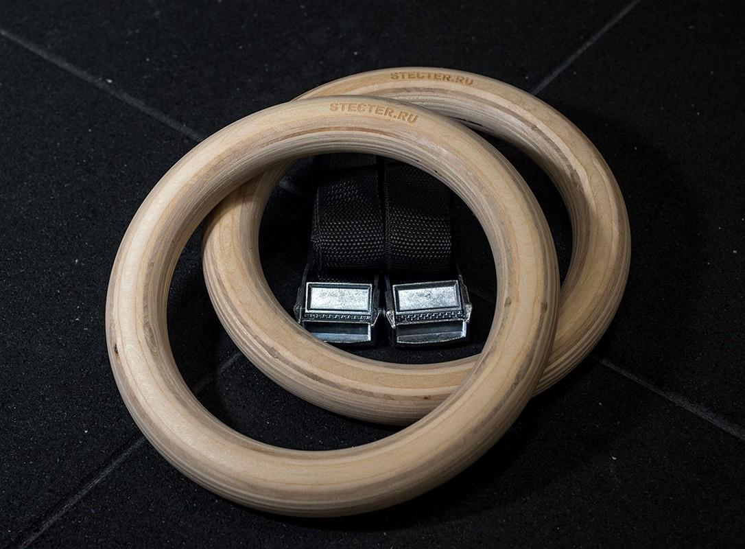 Купить Гимнастические кольца Stecter дерево 2053,