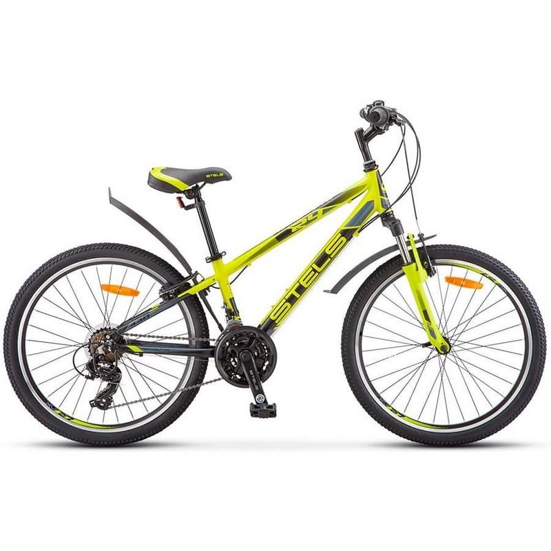 Купить Велосипед Stels Navigator 24 440 V V030 2019 Лайм (LU092157),