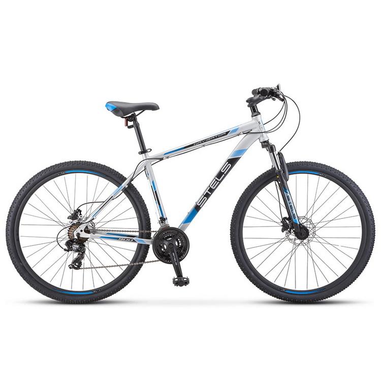 Купить Велосипед Stels Navigator 900 D F010 Серебристый/Синий 29Ø 2020 (LU093939),