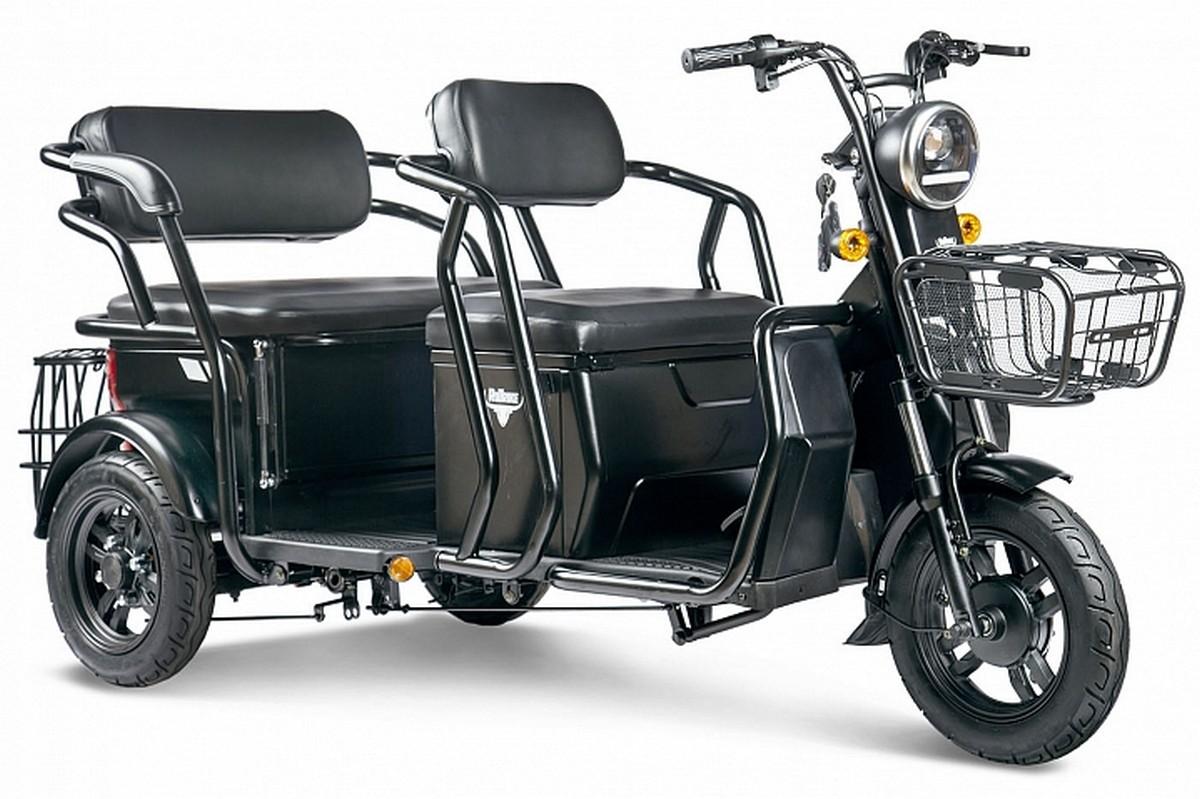 Купить Пассажирский трицикл RuTrike Кэб 022657-2344 зеленый,